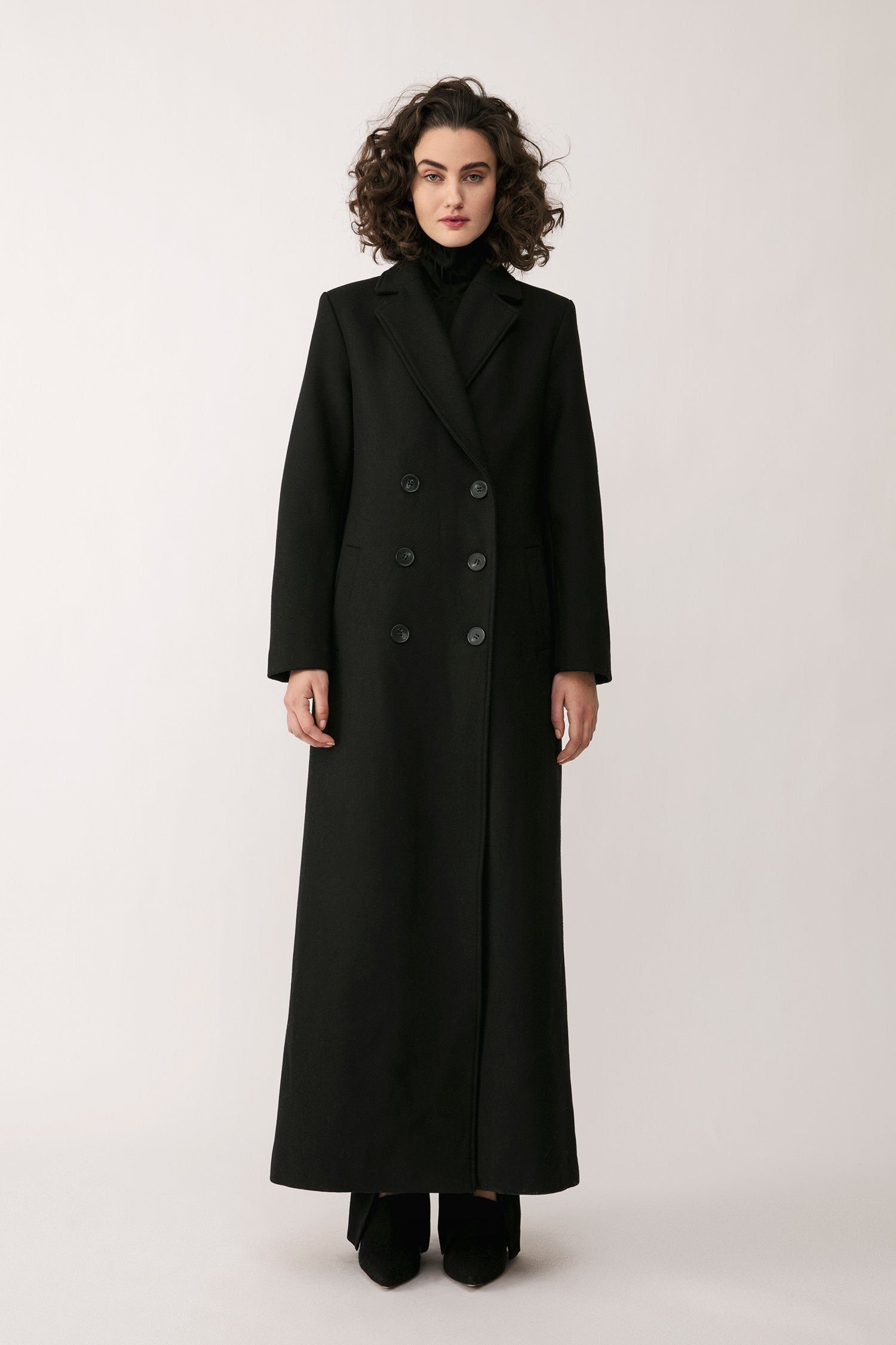 WILLIAMS COAT - BLACK Coat Stylein