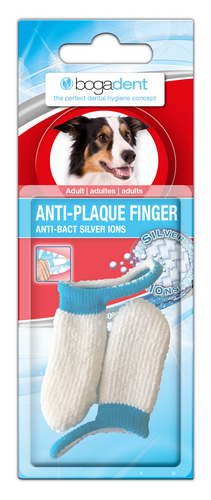 Bogadent ANTI-PLAQUE FINGER ADULT - best4dogs.de