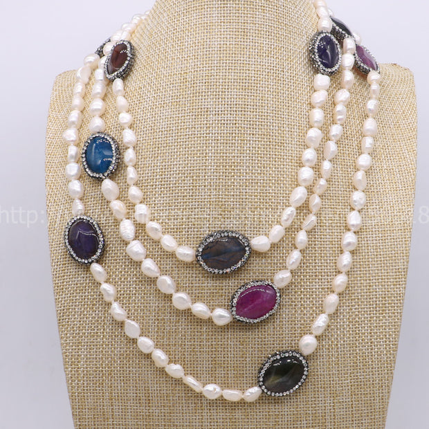 Handcrafted Pearl Necklace - Tokalene Jewelry