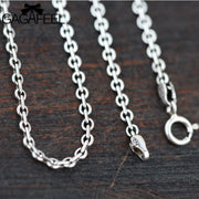 Sterling Silver Link Chain - Tokalene Jewelry