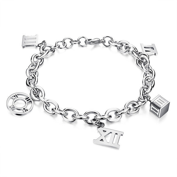 Stainless Steel Adjustable Bracelet - Tokalene Jewelry