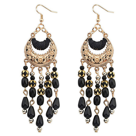 Big Beads Earring - Tokalene Jewelry