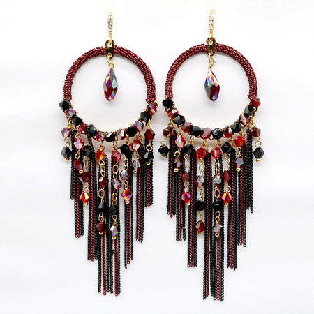 Circle Drop Earring - Tokalene Jewelry