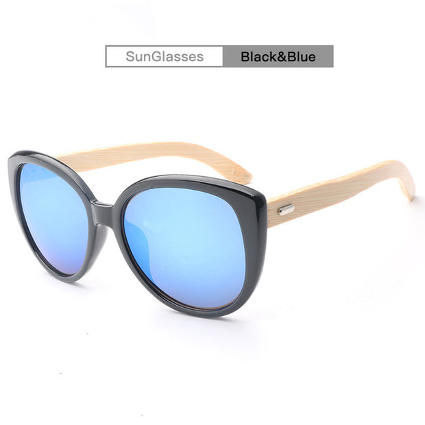 Retro Bamboo Sunglasses - Tokalene Jewelry