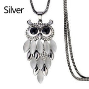 Owl Pendant Necklace - Tokalene Jewelry
