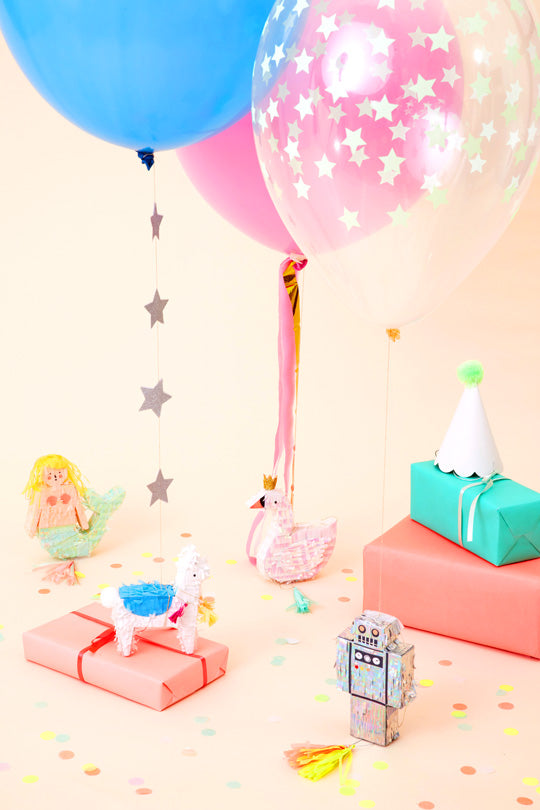Fun Ways To Decorate Balloons Meri Meri