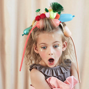 Fruit Pompom Headband