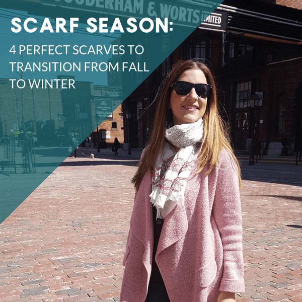 The Best Scarves for Fall Weather