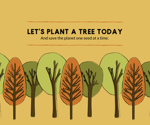 Join the Mailing List and We'll Plant a Tree