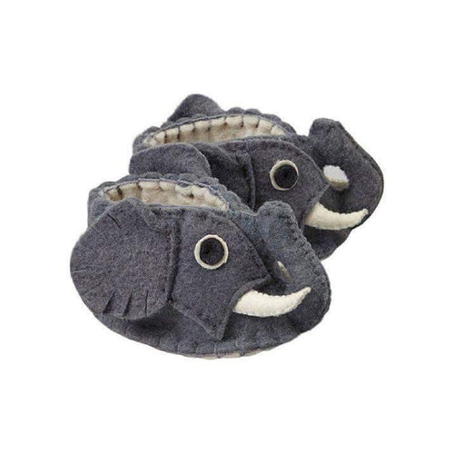 Gift Ideas -  Baby Clothing Elephant Zooties Baby Booties