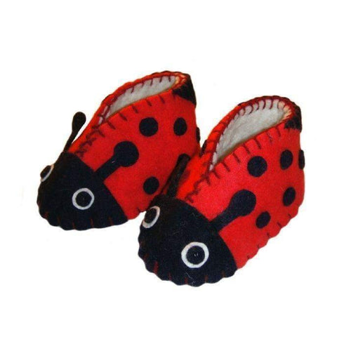 Gift Ideas -  Baby Clothing Ladybug Zooties Baby Booties