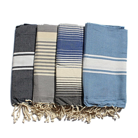 Grey Stripes Cotton Kitchen Towel