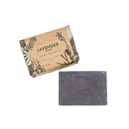 Gift Ideas -  Bath + Body Ayurvedic Soap Bar - Lavender Lemon