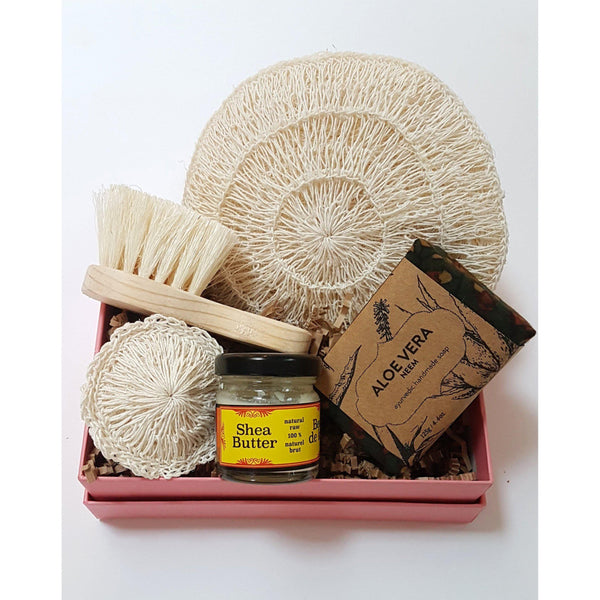 Gift Ideas -  Bath + Body Cold Pressed Organic Shea Butter