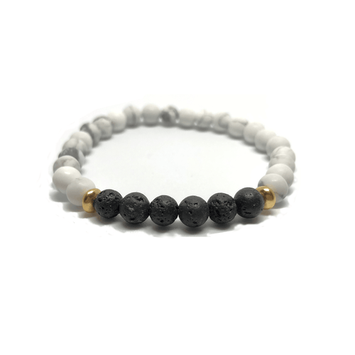 Gift Ideas -  Bracelets Find Your Calm - Crystal Zen Collection Beaded Bracelet