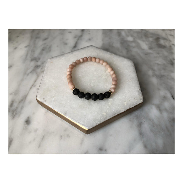 Find Your Goodness Aromatherapy Sunstone Bracelet - Available in Adult and Child Sizes - Good Gifts | Meaningful Gift Ideas