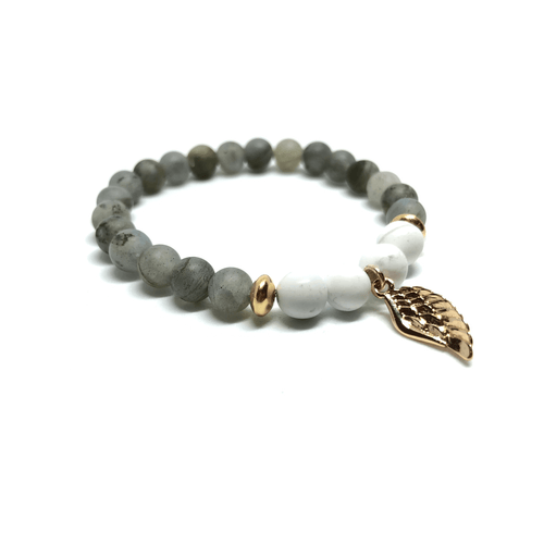 Gift Ideas -  Bracelets Find Your Self - Crystal Zen Collection Beaded Bracelet