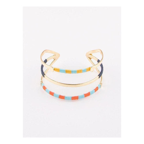 Gift Ideas -  Bracelets Threaded Trio Cuff Bracelet