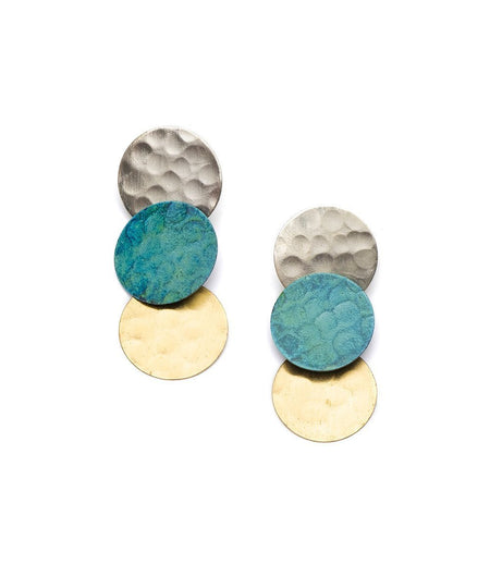 Good Luck Elephant Stud Earrings in Gold