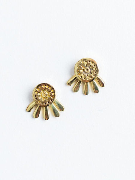 Gift Ideas -  Earrings Sunshine Stud Earrings in Gold