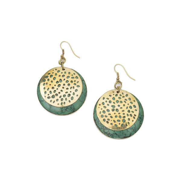 Gift Ideas -  Earrings Tara Stone Crescent Earrings