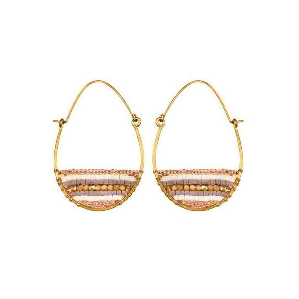 Gift Ideas -  Earrings Terra Gold Hoop Earrings