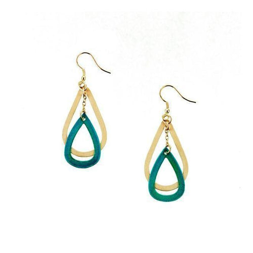 Gift Ideas -  Earrings Vitana Earrings - Golden Dew