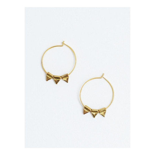 Gift Ideas -  Earrings Zander Hoop Earrings