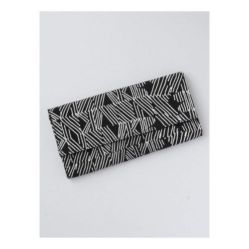 Gift Ideas -  Handbags + Clutches Black Matchstick Clutch Wallet