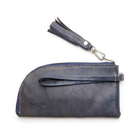 The Carolina Leather Envelope Clutch