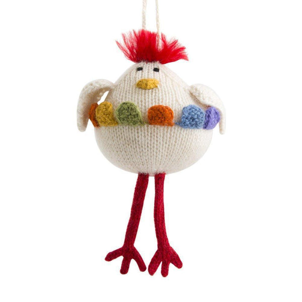 Gift Ideas -  Home Accents Alpaca Chicken Ornament