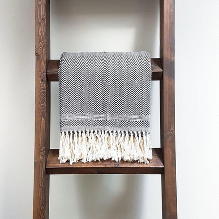 Momos Handwoven Brushed Wool Blanket