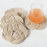 Gift Ideas -  Home Accents Knot Coasters - Set of Four