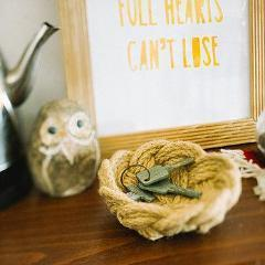 Gift Ideas -  Home Accents Small Jute Knot Bowl