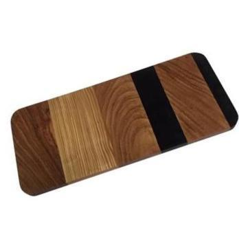 Gift Ideas -  Kitchen Multi-Wood Rectangle Serving Board