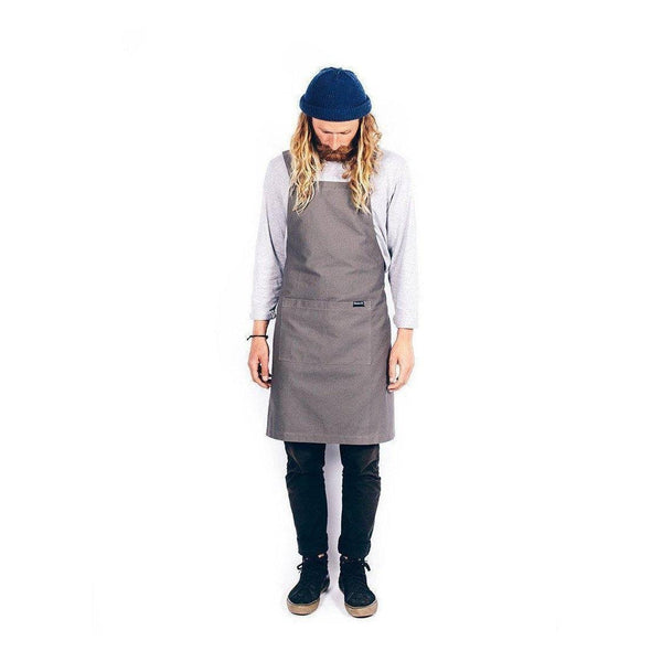Gift Ideas -  Kitchen Organic Cotton Canvas Apron - Navy, Black, or Grey