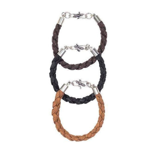 Gift Ideas -  Men's Jewelry Men's Rama Bracelets - Set of Three