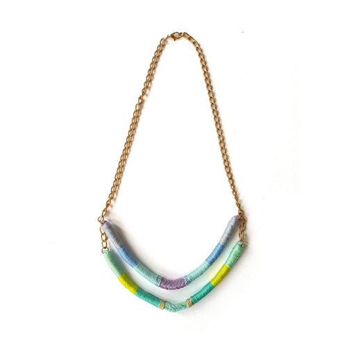 Gift Ideas -  Necklaces Agatha Upcycled Two-Strand Necklace