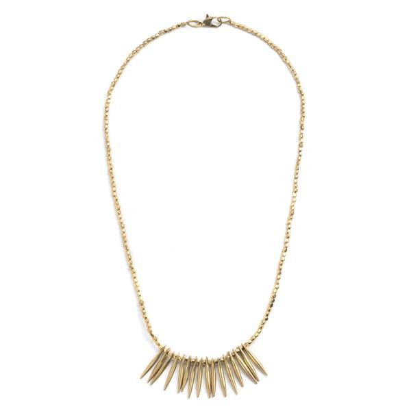 Gift Ideas -  Necklaces Akrita Spike Collar Necklace