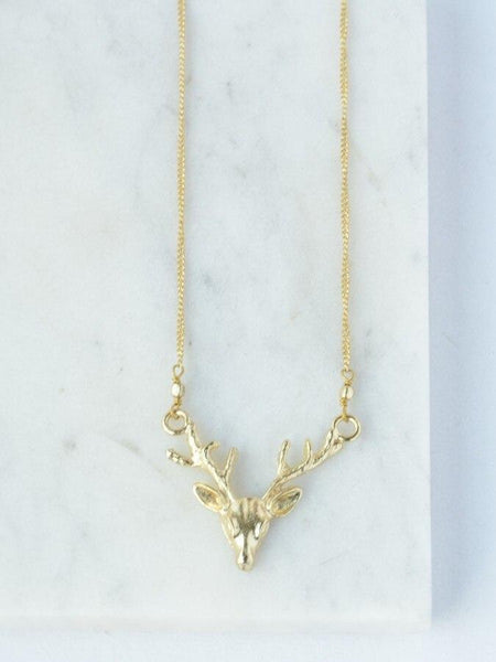 Twilight Tassel Necklace - Gold-Toned