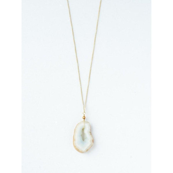 Gift Ideas -  Necklaces Glittering Geode Necklace