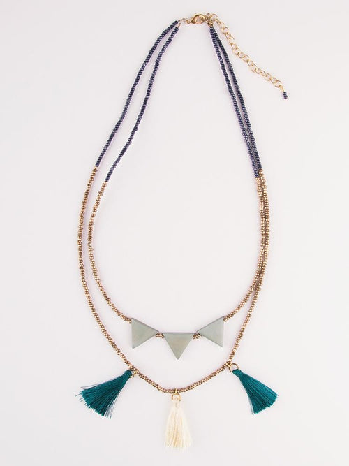 Gift Ideas -  Necklaces Jubilee Tassel Necklace
