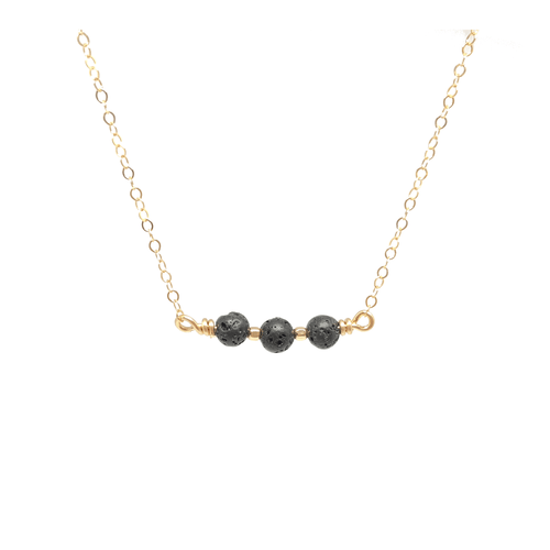 Gift Ideas -  Necklaces Lava Stone Aromatherapy Necklace