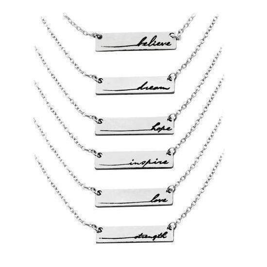 Gift Ideas -  Necklaces Life's Gifts Necklaces - Six Styles