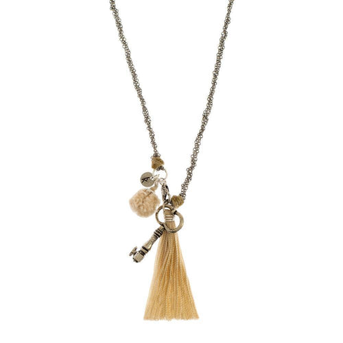 Gift Ideas -  Necklaces Pom Pom Charm Necklace