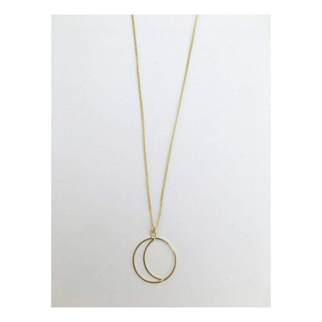 Gift Ideas -  Necklaces Simple Night Necklace - Gold or Silver