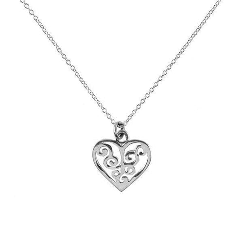 Gift Ideas -  Necklaces Sterling Silver Shanasa Charm Necklace - Love