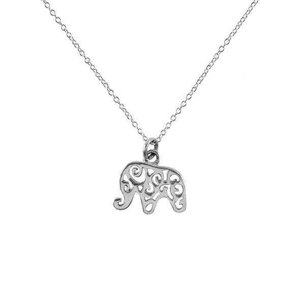 Gift Ideas -  Necklaces Sterling Silver Shanasa Charm Necklace - Wisdom
