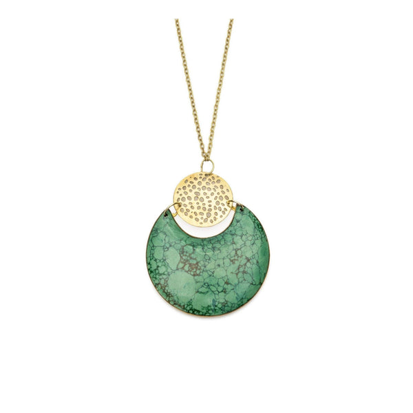Gift Ideas -  Necklaces Tara Stone Crescent Necklace
