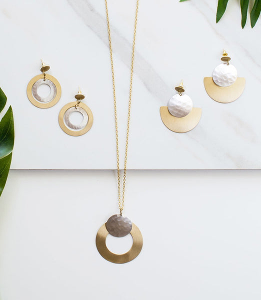 Gift Ideas -  Necklaces Vitana Necklace - Deco Disc